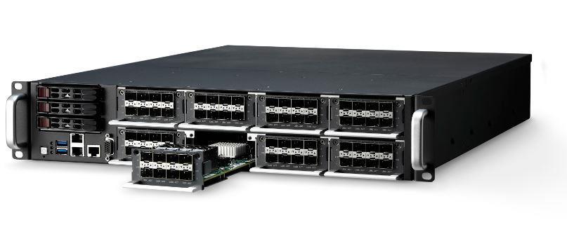 "CSA-7200<br />2U 19""OCCERA的网络安全平台,支持 Intel® Xeon® E5-2600 v3/v4 处理器"