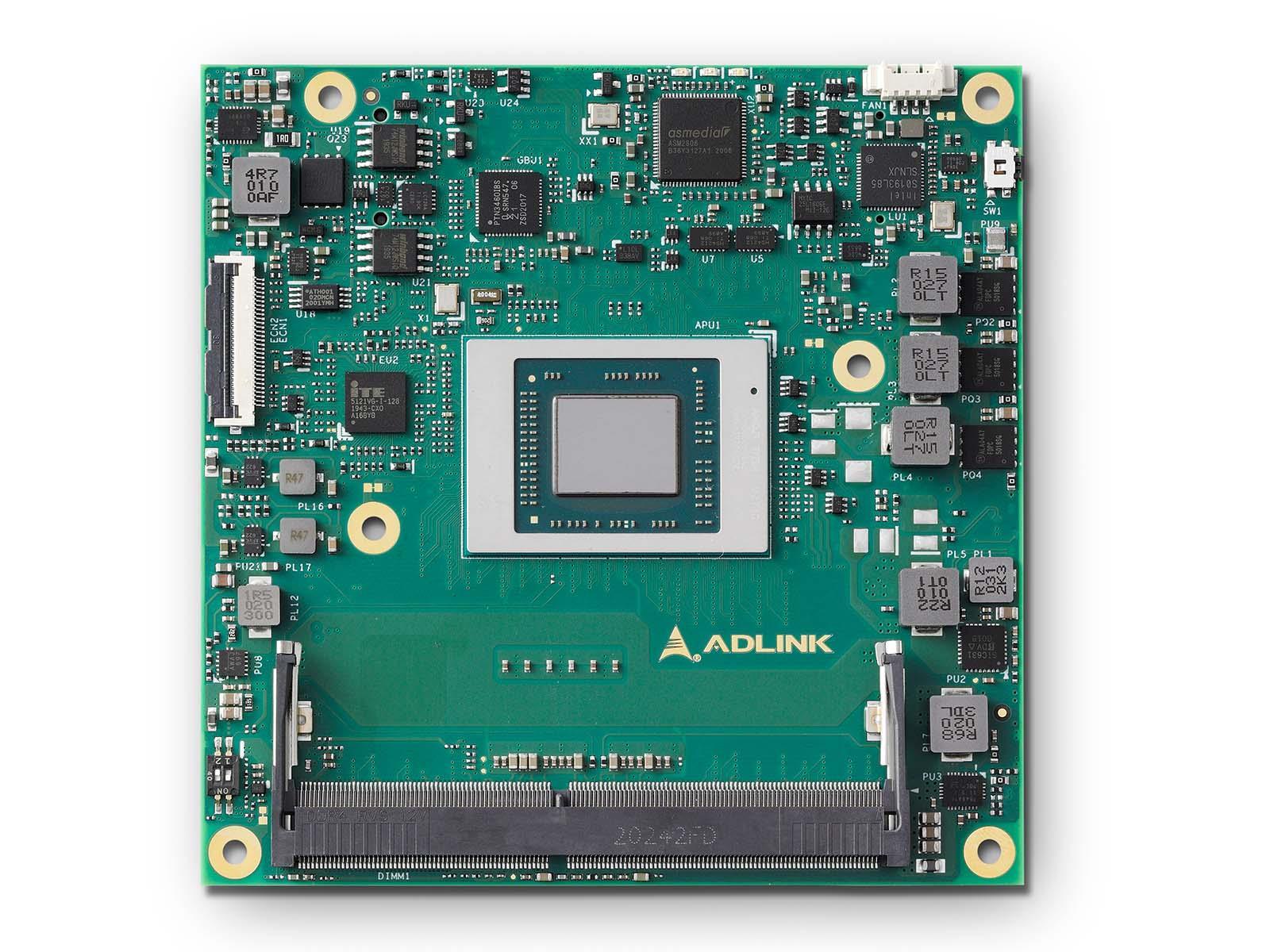 AMD Ryzen V2000 COM Express Type 6 Compact embedded Computer-on-Module
