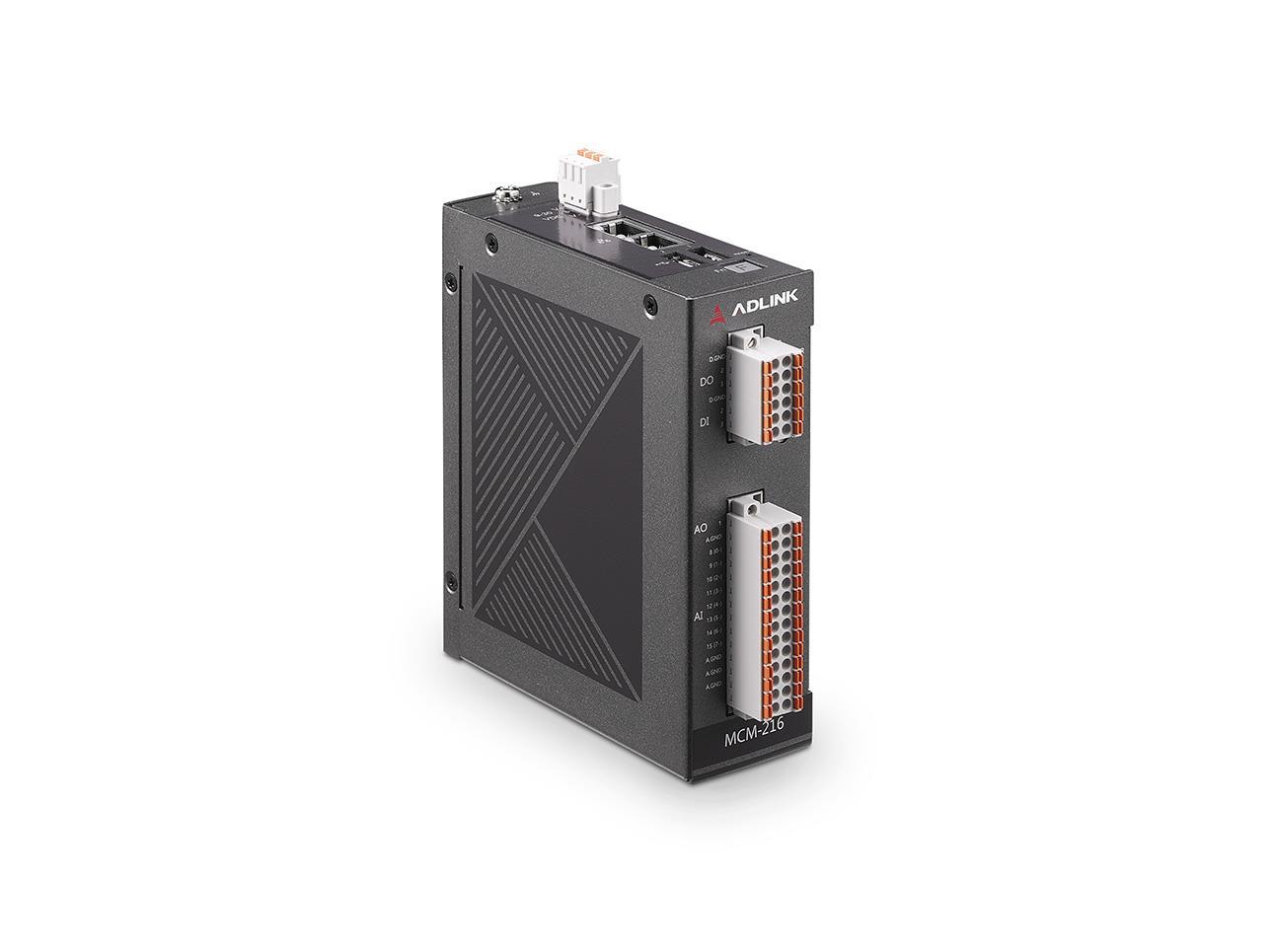MCM-216/ MCM-218<br />Standalone Ethernet DAQ with 8/16-ch AI, 16-bit, 250kS/s, 4-ch DI/O