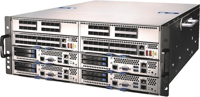 CSA-7400<br />4U 19'' Network Appliance with Intel® Xeon® Processor E5-2600 v3 Family