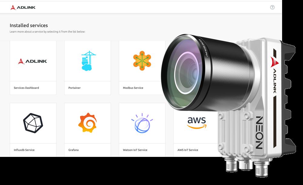 &nbsp; &nbsp;<br />features: ADLINK Edge for Machine Vision