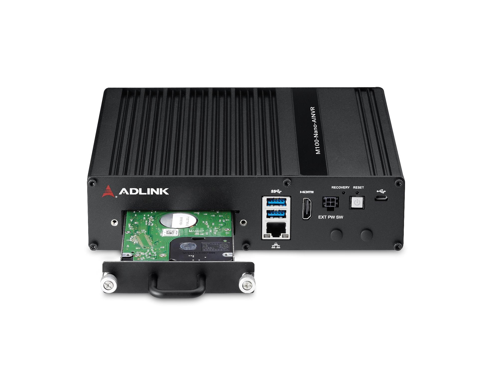 M100-Nano-AINVR–Edge AI Platforms–ADLINK