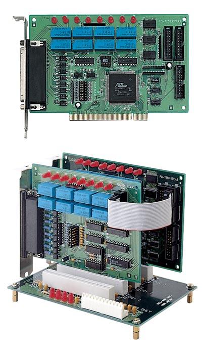 Adlink NuDAQ PCI-7250 Rev.A3 8-Channel Digital Isolated Relay I//O PCI Card