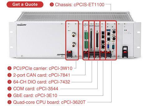 cPCIS-ET1100 Series<br />