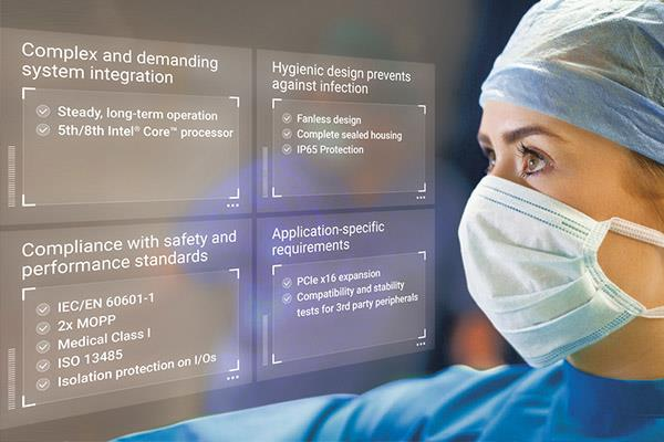 <br />MLC Series Medical Panel Computers Enable Top-Level Patient Care in Digital OR